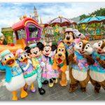 ディズニースターが勢ぞろい スプリングカーニバル3月15日から  香港ディズニーランド