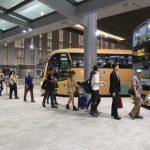 「大橋」週末の大混雑緩和策 団体専用直通バスなど増加