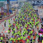 新春名物・香港マラソン開催 男女ともに記録を塗り替え