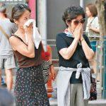 気温35℃超え大気汚染深刻 高齢者2千人が救助求め