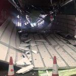 中環旧市場の天井崩壊事故 歴史建築、雨水蓄積が原因か